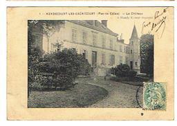 CPA 62 HENDECOURT LES CAGNICOURT Le Chateau - France