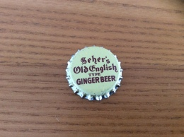 "Ancienne Capsule De Soda ""Seher's Old English TYPE GINGER BEER, SAUGATUCK"" Etats-Unis (USA) (intérieur Liège) - Soda"