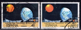 E+ Spanien 1987 Mik 2759 2809 EXPO: Erde - 1931-Heute: 2. Rep. - ... Juan Carlos I