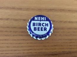 "Ancienne Capsule De Soda ""NEHI BIRCH BEER"" Etats-Unis (USA) (intérieur Liège) - Soda"