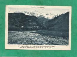 La Chambre (73-Savoie) 2 Scans Le Bugeon St-Martin-de-la-Chambre Montagnes De Montaymont Pointe Du Mont De Fuz - Autres Communes