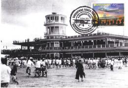 19F : Carte Maximum Card, Old Airport, Singapore Maxi Card, MC - Airplanes