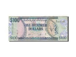 Guyana, 100 Dollars, 1989-1992, KM:28, Undated (1989), TB - Guyana