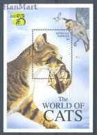 Antigua And Barbuda 1999 Mi Bl 428 MNH -  Cats  ( ZS2 ANBbl428 ) - Domestic Cats