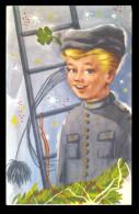Chimney Man / Postcard Circulated, 2 Scan - Künstlerkarten