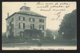 +++ CPA - KRUISHOUTEM - CRUYSHAUTEM - Huysse Lozer - Château - Kasteel - D.V.D.11387 - Kruishoutem