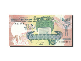 Seychelles, 10 Rupees, 1989, KM:32, Undated (1989), NEUF - Seychelles