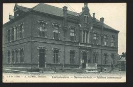 +++ CPA - KRUISHOUTEM - CRUYSHAUTEM - Maison Communale - Gemeentehuis  - D.V.D.11389  // - Kruishoutem