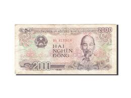 Viet Nam, 2000 Dông, 1988-1991, KM:107a, 1988, TB - Vietnam