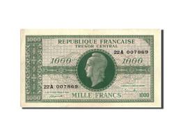 France, 1000 Francs, 1943-1945 Marianne, 1945, Undated (1945), KM:107, SUP+,... - Tesoro