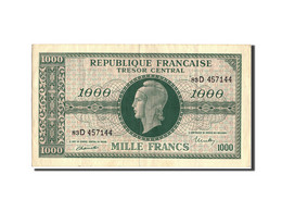 France, 1000 Francs, 1943-1945 Marianne, 1945, Undated (1945), KM:107, SUP+,... - Trésor