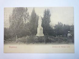 MAGDEBURG  :  Denkmal Der  KÖNIGIN  LUISE   1909   XXX - Magdeburg