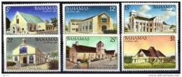 BAHAMAS 1982 CHRISTMAS CHURCHES SET MINT - Kerken En Kathedralen