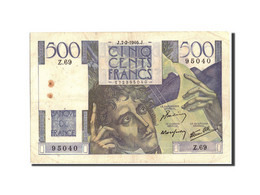 France, 500 Francs, 500 F 1945-1953 ''Chateaubriand'', 1946, 1946-02-07, KM:1... - 1871-1952 Circulated During XXth