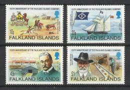 FALKLAND 2002 150th ANNIVERSARY FALKLAND ISLANDS COMPANY SET MNH - Falklandinseln