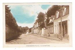CPSM 62 HARDINGHEN La Rue Des Riches - Francia
