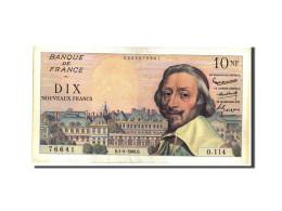 France, 10 Nouveaux Francs, 10 NF 1959-1963 ''Richelieu'', 1960, 1960-09-01,... - 1959-1966 ''Nouveaux Francs''