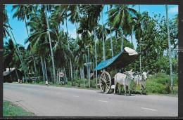 Malaysia, Malacca, Bullock Cart, Unused. - Malaysia