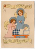 Illustrateur  CF--Nativité (anges) ,cpsm 15 X 10  N°9 éd VG  Maison Bouasse-Lebel - Anges