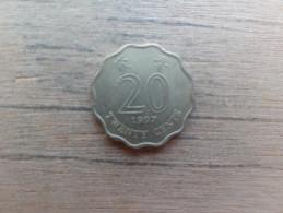 Hong Kong  20  Cents  1997  Km 67 - Hong Kong