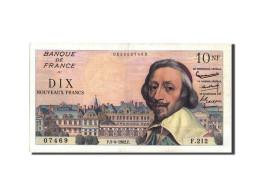 France, 10 Nouveaux Francs, 10 NF 1959-1963 ''Richelieu'', 1962, 1962-04-05,... - 1959-1966 ''Nouveaux Francs''