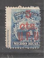 COSTA RICA , 1883 , U P U , Yvert N°  9 , 5 Cts Sur 1/2 R Bleu , Surcharge II , Neuf (*) , TB, Cote 120 Euros - Costa Rica