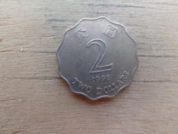 Hong-kong  2  Dollars  1995  Km 64 - Hong Kong