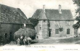 N°297 J -cpa Ferme Du Manoir - Fermes