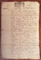 CHERASCO 1713 ANTICO TESTAMENTO  DON GIACINTO ALTAVILLA IN CARTA BOLLATA - Documentos Históricos