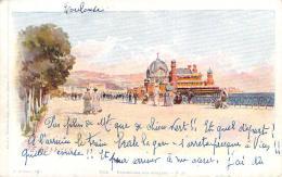 Illustrateur - Lessieux - Nice, Promenade Des Anglais - Lessieux