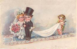 Illustrateur - Colombo - Mariés Et Cupidon - Colombo, E.
