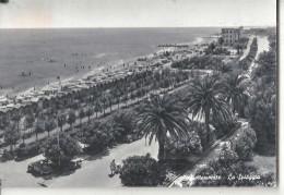 GROTTAMARE SPIAGGIA,PANORAMA.VIAGGIATA .1956.FG-D1114.T - Ascoli Piceno