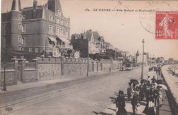 G , Cp , 76 , LE HAVRE , Villa Dufayel Et Boulevard - Port