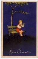 BUONA PASQUA - BAMBINO CON ARMONICA - 1948 - Vedi Retro - Formato Piccolo - Pâques