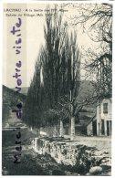 - LACHAU - ( Drome ), Entrée Du Village, Limite Des Hautes Alpes, Non écrite, Coins Ok, TBE, Scans. - Frankreich