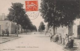 ST JEAN D'ASSE -72- LA ROUTE D'ALENCON - Frankreich