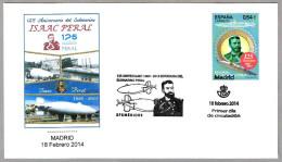 125 Años Submarino ISAAC PERAL - 125 Years Submarine Peral. SPD/FDC Madrid 2014