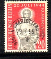 T688 - GERMANIA BERLINO 1954 , Unificato N. 106  Usato . - [5] Berlino