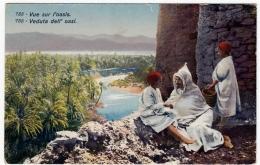 COLONIE? - LIBIA? - VUE SUR L'OASIS - VEDUTA DELL'OASI - Vedi Retro - Formato Piccolo - Femmes Célèbres