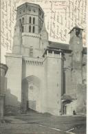 LAVAUR , Clocher De La Cathédrale Et Tour De Jacquemard , 1904 , CPA ANIMEE - Lavaur