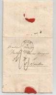 EICH  Du 3 Janvier 1833.  Lettre De  Luxembourg. Très Beau Papier.Lettre Complète. - Luxembourg