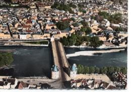 Châtellerault.. Belle Vue Aérienne Le Pont Henri IV Sur La Vienne - Chatellerault