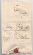 Lettre Complète De EICH P.P.  Du 21 Février 1833 . Luxembourg. - Luxembourg