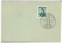 AUSTRIA NAVIDAD MAT CHRISTKINDL 1953 - Christmas