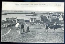 Cpa Du 29 Ile De Batz -- Vue Générale Prise Du Sémaphore       JIP5 - Ile-de-Batz