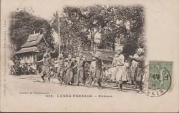 INDOCHINE LAOS  TIMBRE FRANCAIS  FM/  CPA  DANSES LUANG PRABANG  Réf  3217 - Laos