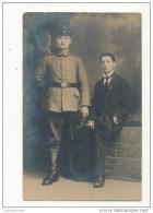 GUERRE DE 14 18   CARTE PHOTO  MILITAIRE ALLEMAND OFFICIER CPA BON ETAT - Weltkrieg 1914-18