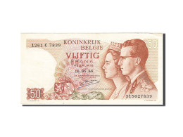 Belgique, 50 Francs, 1966, KM:139, 1966-05-16, TTB - [ 6] Treasury