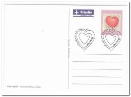 Aland, Postage Paid Postcard 2006, Love - Aland