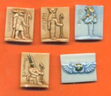 "Lot De 5 Feves Porcelaine Dautrey De La Serie "" Egypte "" - Antiguos"